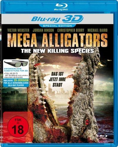 Mega Alligators - The New Killing Species [3D Blu-ray] [Special Edition]