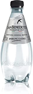 San Benedetto Sparkling PET water, 400ml (Pack of 12)
