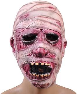 ハロウィンホラー恐ろしいマスクゾンビミイラ恐怖ドレスアップカーニバルボールステージショーの装飾 (色 : B)