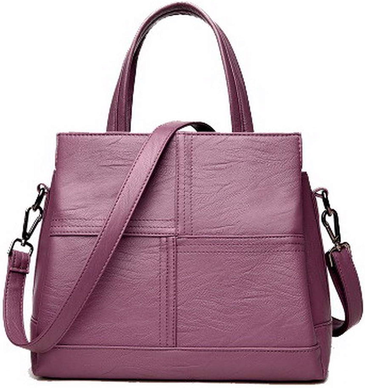 AllhqFashion Women's Tote Bags Shopping Casual Zippers Pu Crossbody Bags,FBUBD189953