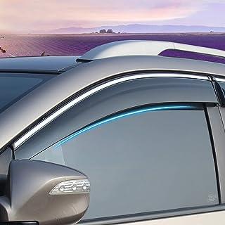 Xtrdye Deflectores de Viento para Coche para Ford Carnival 2009 – 2017 5 Puertas Hatchback (