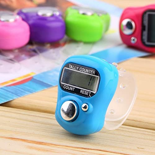 ASTROGHAR Mini Hand Tally Counter Finger Ring Digital Electronic Head Count Japa Counter