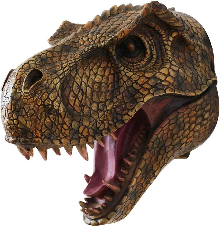In stock Popular product Jurassic Dinosaur Head Wall hanging T-Rex Mounted Large S -