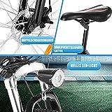 ANCHEER E-Bike Elektrofahrrad, 20 Zoll Pedelec