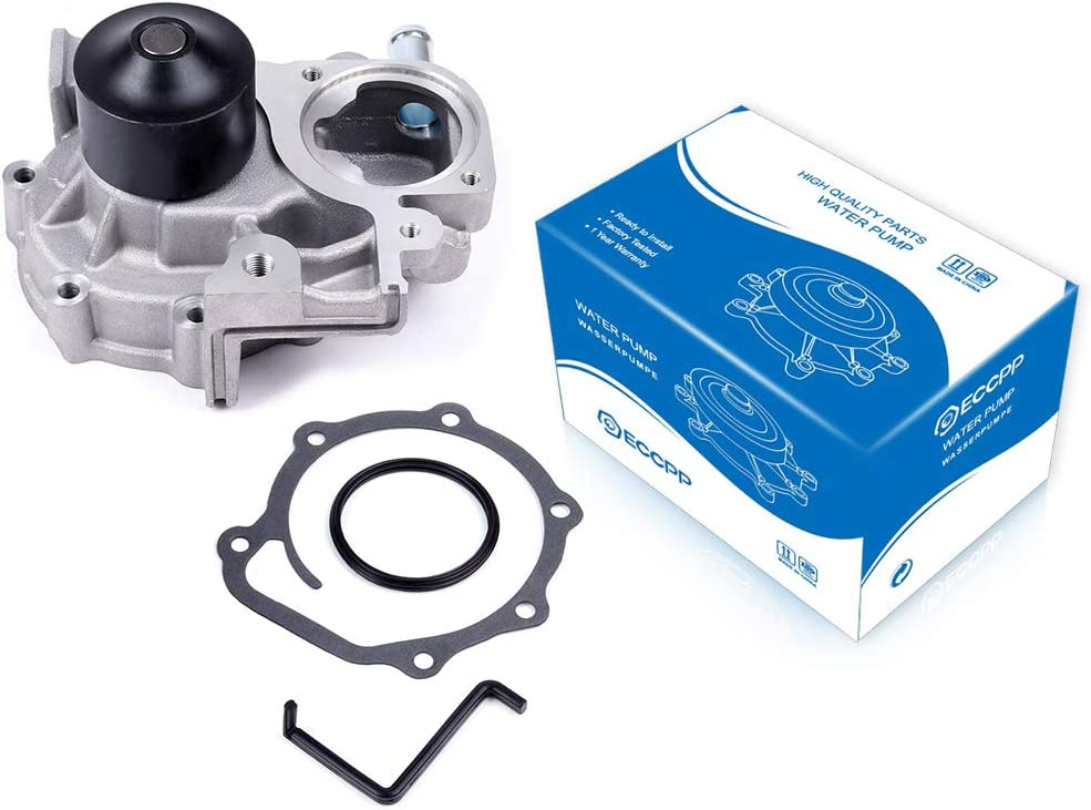 ECCPP Water Pump with 日本全国 送料無料 Gasket fits 日本 2010 Subaru for 2006 fores