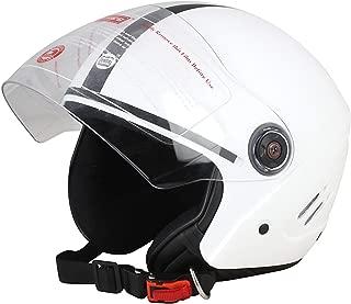 Dass Getz White (ISI) Open Face Helmet (White)