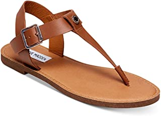 5558407efd6 Steve Madden Womens Skylar Leather Open Toe Casual Strappy Sandals