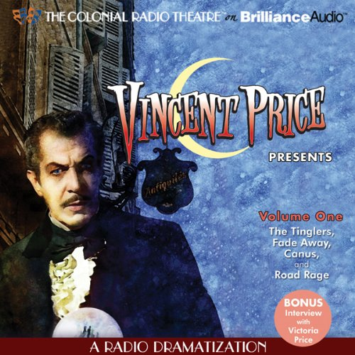 Vincent Price Presents, Volume One audiobook cover art