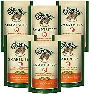 Feline Greenies Smartbites Cat Treats 6 Pack