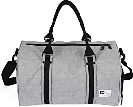 حقيبة تنقل مقاومة للماء 28 لتر من ليكسادا مع مقصورة منفصلة للأحذية للرجال والنساء وصالة الألعاب الرياضية