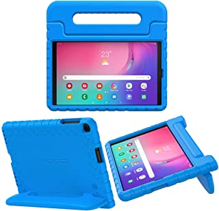 MoKo Case Fit Samsung Galaxy Tab A 10.1 2019, EVA Kids Shock Proof Convertible Handle Light Weight Protective Cover for Galaxy Tab A 10.1 inch SM-T510/SM-T515 2019 Tablet - Blue