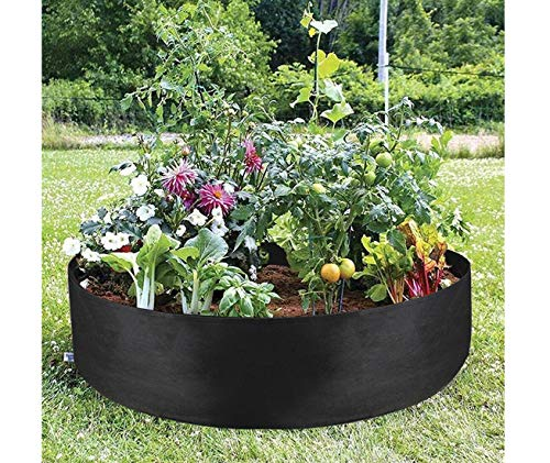 Garden Raised Planting Bed, Gallon Plant Grow Bags - Garden Planting Pots for Potatoes Vegetables and Fruits Fabric pots 130cm*30cm