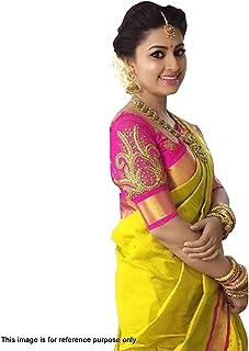 Anni Designer Cotton Saree with Blouse Piece (6O-8HGD-SZMV_Pink_Free Size)