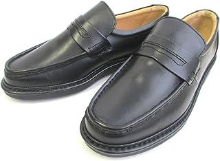 [リナシャンテバレンチノ] リピーター多数の人気商品!履き心地抜群 3101 ビジネスシューズ メンズ 本革 4E ラウンドトゥ 通勤靴 仕事靴 ブラック