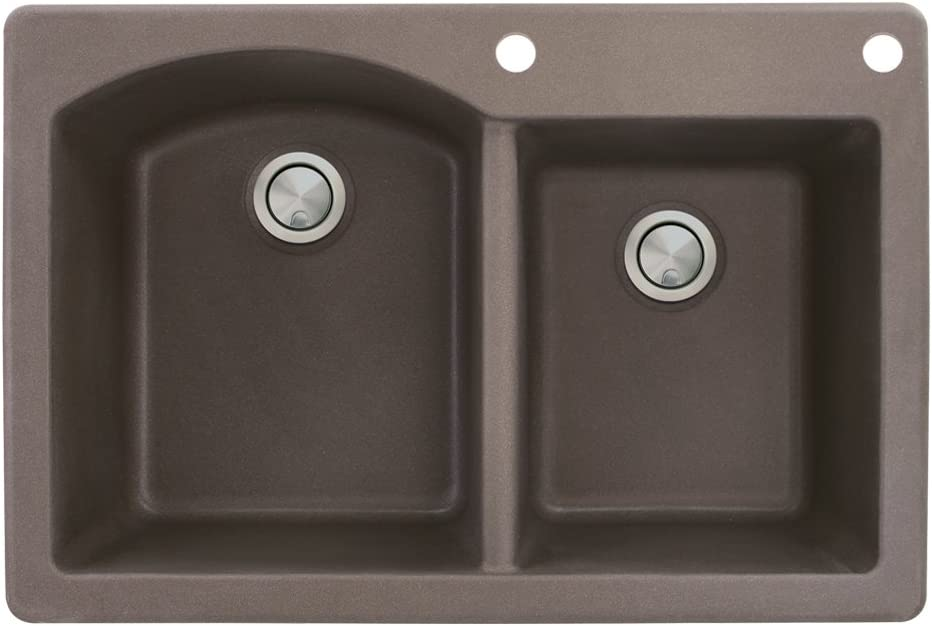 Transolid New product! New type ATDD3322-12-BE Aversa Granite 2-Hole Sales Double-Bo Drop-in