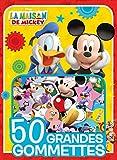 LA MAISON DE MICKEY - 50 Grandes Gommettes - Disney