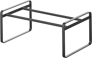 YAMAZAKI home 7210 Frame Adjustable Shoe Rack Black