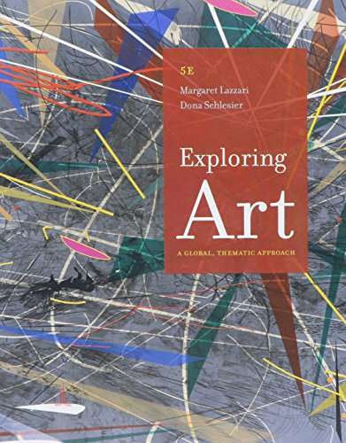 Bundle: Exploring Art: A Global, Thematic Approach, 5th + MindTap Art & Humanities Access Code -  Lazzari, Margaret, Paperback