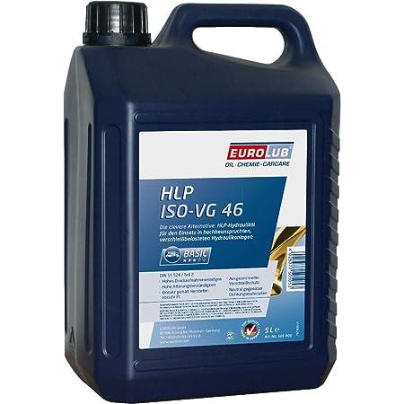 Eurolub Hlp Iso Vg 46 Hydraulic Oil Auto