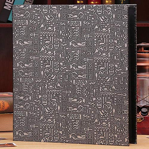 EDCV Fotoalbum 600 zakken kunnen fotolijst omslag familie huwelijksverjaardag vakantie 4x6 inch, Egyptisch