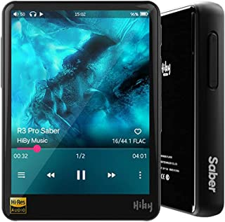 HiBy R3 Pro Saber, Hi-Res Music Player, Hi-Fi Lossless Audio Player, mp3 Player with Bluetooth and WiFi/aptX/LDAC/MQA/DSD/...