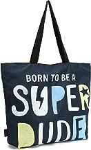 ICOLOR Particular Alphabet Design Gym Bag Tote Bags Shoulder Bag Beach Bag with Zipper for Men Gym Picnic Travel Beach Shopping Work Daily Use(GymBag-07)