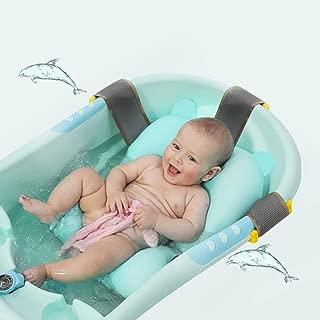 ベビーバスネット 新生児バスタブバスマット 滑り止め 通気性 シャワーマット ベビーバスチェア 沐浴サポートクッション