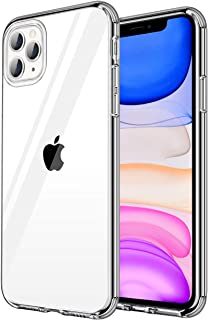 HOCORN iPhone 11 Pro Max Crystal Clear Case, [New Upgraded] Never-Yellowing Tech: Shockproof and Drop Protection, Soft Bumper & Hard PC Back