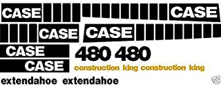 New Whole Decal Set for Case Construction King Backhoe Loader 480 Extendahoe