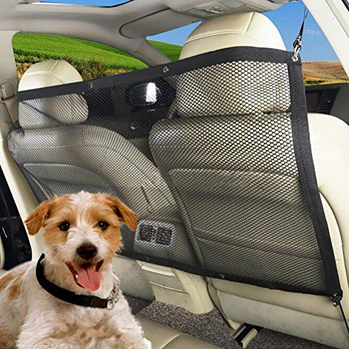 UEETEK Separation Net Pet Protector Pet Travel Safety Barrière de véhicule Barrières à Pression