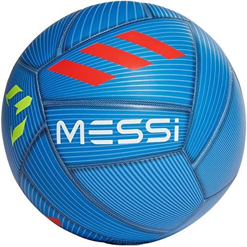 adidas Messi Capitano Soccer Ball (Fb Blue/SLR Red/SLR YLW, 5)