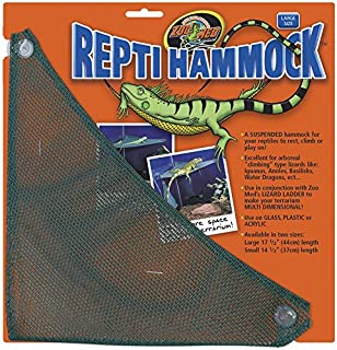 Zoo Med ReptiHammock 17.5in Length Large Rest Climb Play On Reptile Hammock
