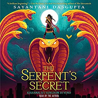 The Serpent's Secret audiobook cover art