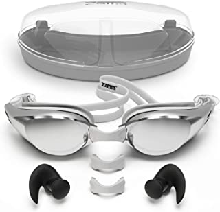 Zoma Swimming Goggles with Anti Fog Technology - 3 Piece...