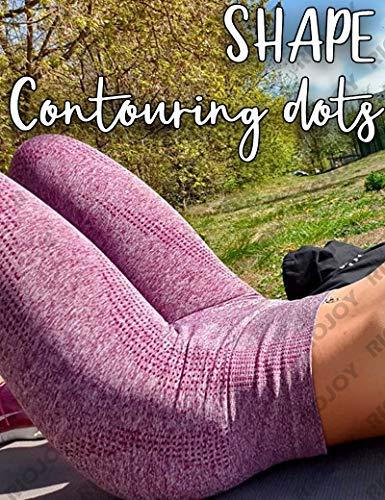RIOJOY Women Energy Seamless Yoga Leggings Slimming Tummy Control Compression Tights, 2 Roseo, M