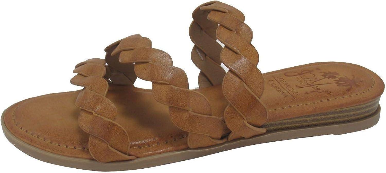 Jellypop お歳暮 Alyvia Womens 感謝価格 Sandals Flat Tan