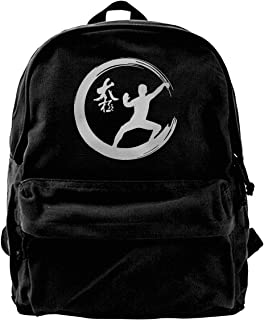 Enso Circle Tai Chi Martial Arts Adult Outdoor Fashion Style Mens Womens Unisex Backpack
