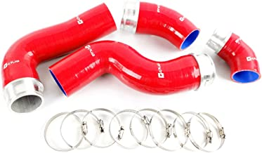 Silicone Turbo Intercooler Boost Hose Kit Clamps For VW GOLF GTI MK5 MKV FSI 2.0T Turbo RED 4pcs