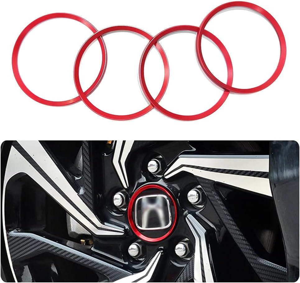 MoharWall Soldering 4PCS Car Wheel Center Decor lowest price Hub Caps Rings Tire