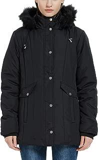 Plusfeel Women's Lightweight Outdoor Puffer Mid-Length Jacket Coat Winter Outwear, S-3XL