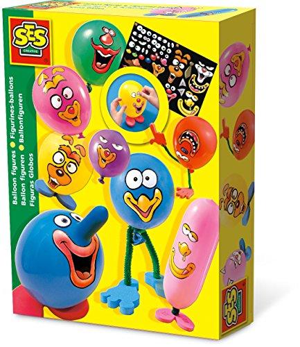SES Creative - Figuras de Globos, Multicolor (00959)
