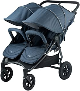 Valco Baby Neo Twin Double Lightweight All Terrain Stroller (Denim Blue)
