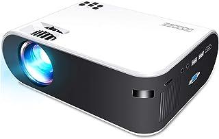 GooDee プロジェクター wifiプロジェクター 4800lm 1980*1080P最大対応解像度 小型 ホームプロジェクター 交換アタブター不要 WIFI接続可 ワイヤレスプロジェクター HDMI/USB/TF/AV/VGA端末搭載 Fi...