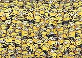OKJK 1000 Piezas Rompecabezas Adultos Alivio del estrés Niños Juegos intelectuales Minions Divertidos y humorísticos Papel Multicolor Personalizar Personalización Creatividad