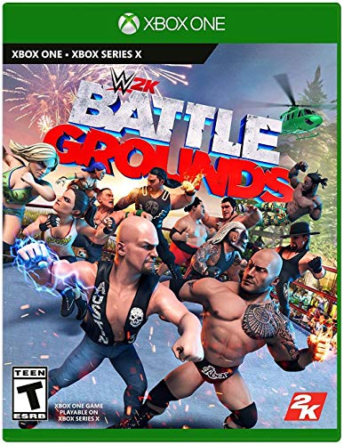 WWE 2K Games Battlegrounds - Xbox One Standard Edition
