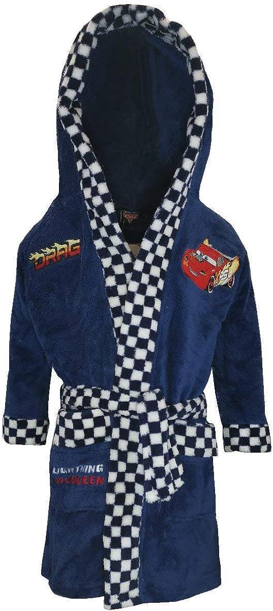 Disney Cars Boys 2-8 Robe Dressing OFFicial site McQueen - Gown Max 90% OFF Polar Fleece