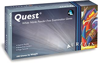 Aurelia Quest Nitrile Glove, Powder Free, 9.4