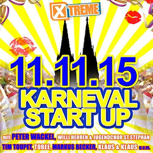 Xtreme Karneval Start Up 11.11.2015