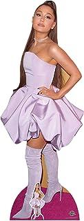 Star Cutouts- Ariana Grande Lifesize Cartón recortado cantautor estadounidense altura 163 cm viene con mini escritorio sta...