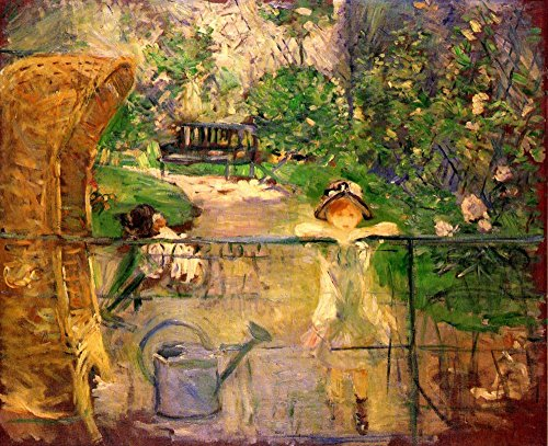 Il Museo outlet–Sedia in the Garden by Morisot–Poster Print comprare online (76,2x 101,6cm)